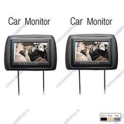 9 дюймовый ЖК монитор-подголовник сиденья автомобиля со встроенным DVD (1 пара) 00245006