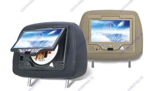 Автомобильный 7 дюймовый монитор в подголовнике и DVD плеер SN-788D