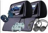 Автомобильный TFT LCD монитор с DVD проигрывателем YT-DV718A