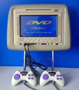 Автомобильный TFT LCD монитор с DVD проигрывателем YT-DV718