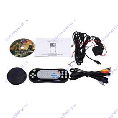 8,5 дюймовый DVD-плеер на подлокотник в автомобиль с FM-приемником, ИК-пультом-джойстиком, наушниками, USB-портом и SD картридером 00247681